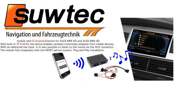 Audio Interface für Audi MMI 2G High u  Basic Low Bluetooth A2DP AUX AMI  streaming